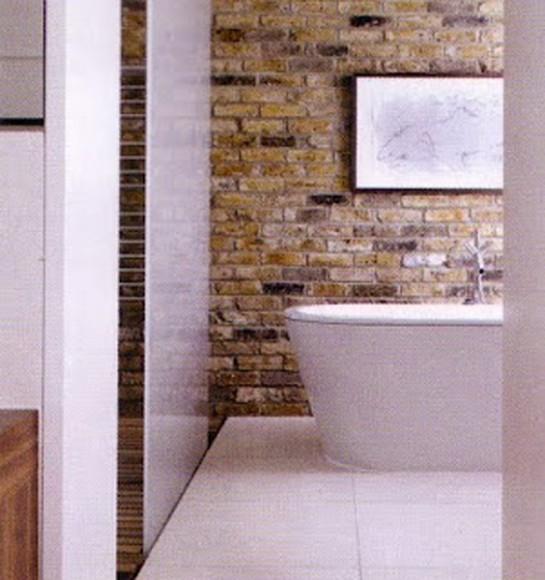 Interior inspiration: Exposed brick wallpaper  Tribe Magazine