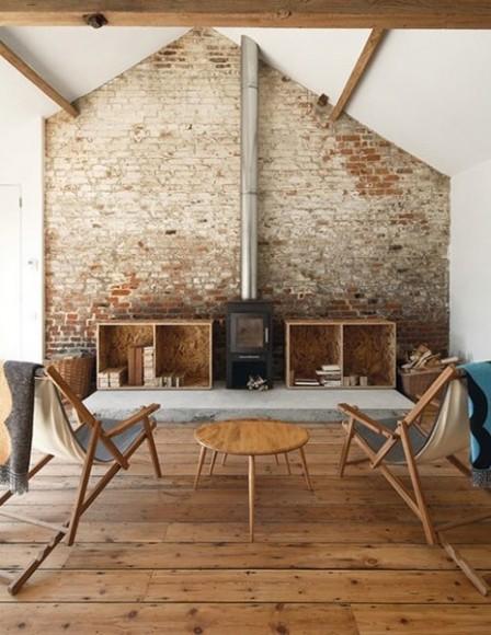 Interior Inspiration Exposed Brick Wallpaper Tribe Magazinetribe Magazine
