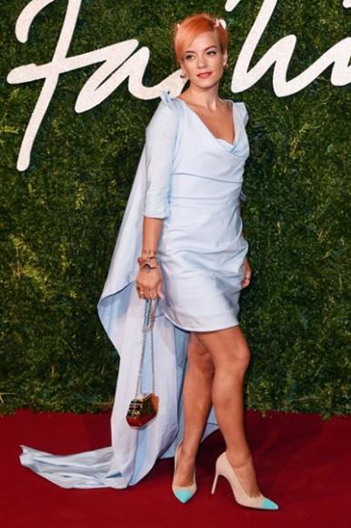 British_Fashion_Awards_2014_Lily_Allen