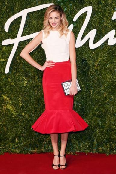 British_Fashion_Awards_2014_Tamsin_Egerton
