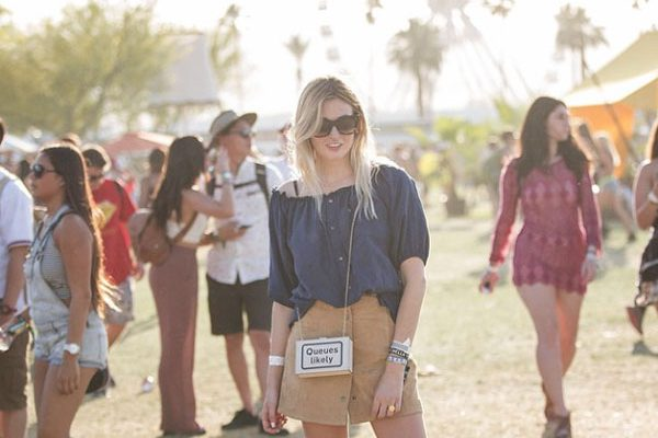 Camille Charriere from Camille Over The Rainbow at Coachella 2015