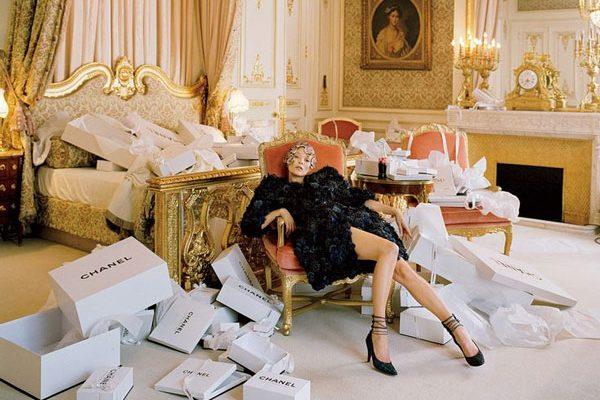 Kate Moss at the Ritz Paris