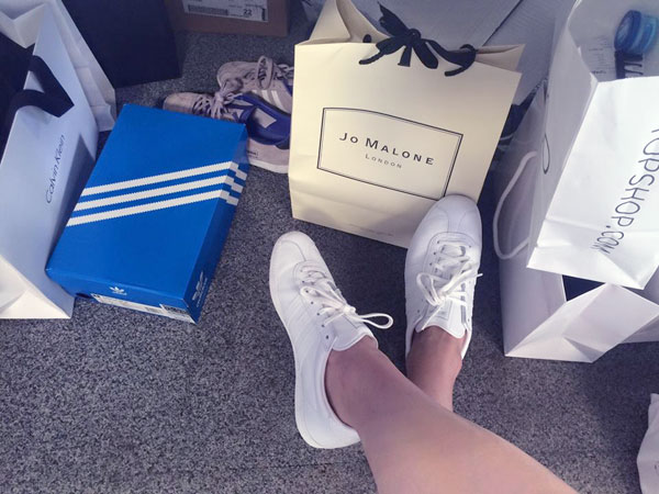 Adidas or Nike is the question that divides fashion girls. I say, get both!