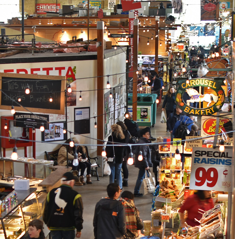 St. Lawrence Market, Toronto.