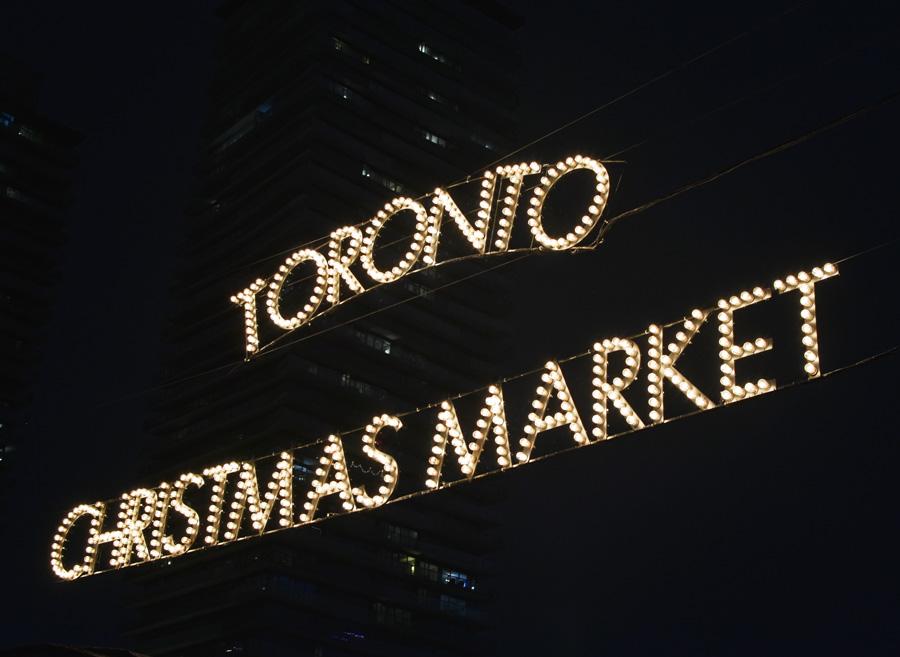 Toronto Christmas Market, Canada.