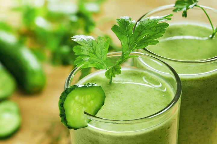Beauty Booster: Green Juices
