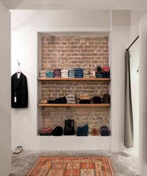 Exposed_Bricks_Wallpaper_Interior_Design_wardrobe