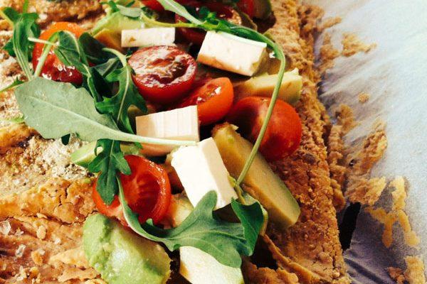 Katherine Whale's healthy pizza recipe