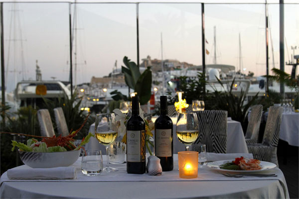 The Cavalli Restaurant & Lounge in Ibiza
