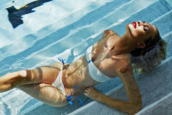 Poppy Delevingne photographed by Derek Kettela