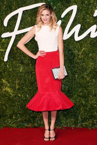 British_Fashion_Awards_2014_Tamsin_Egerton
