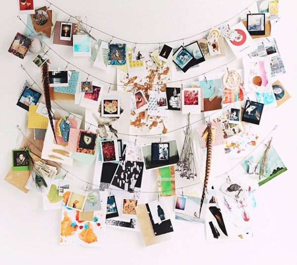 Urban Outfitters picture wall