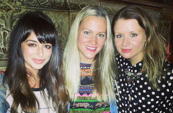 My lovely friends Tasha and Louise