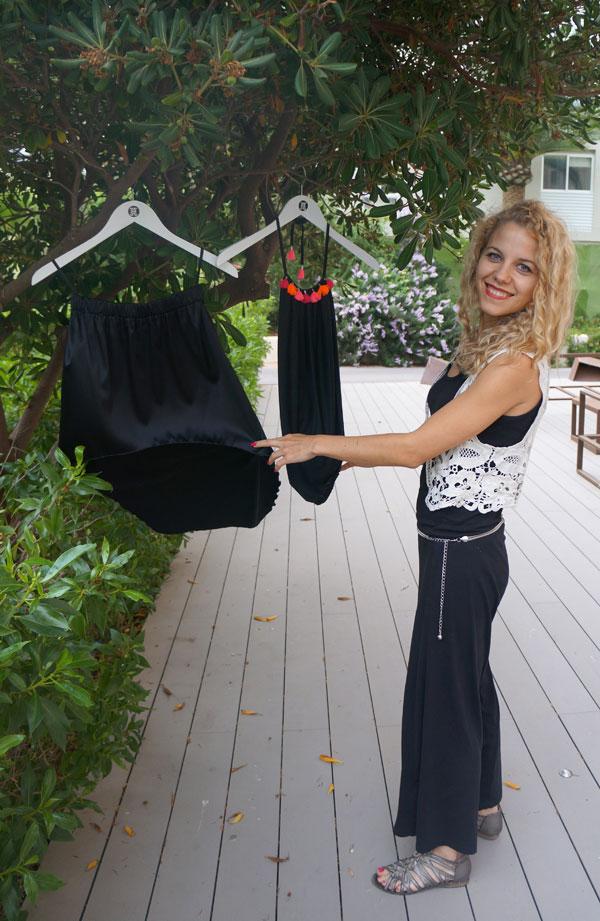 Fashion designer Jannine Helbling