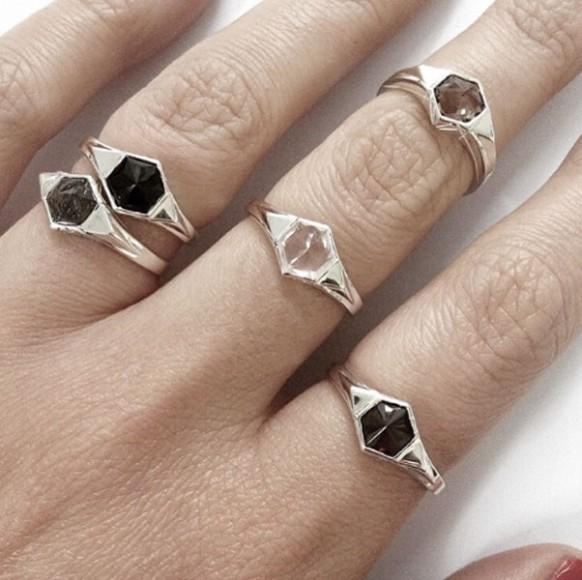 MeadowLarkJewellery_Hexagon_Rings