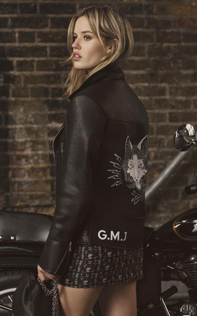 As the daughter of rock royalty Georgia May Jagger has rock chic nailed.