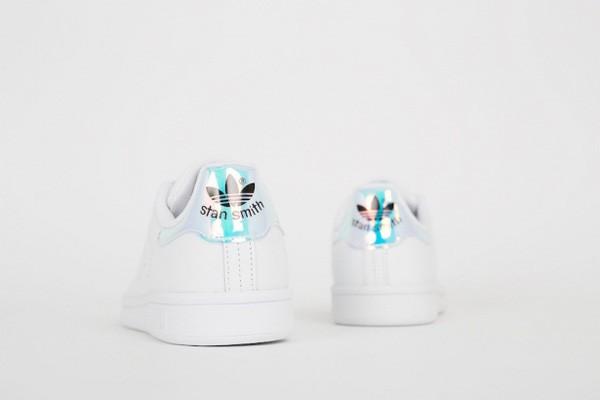 Iridescent Adidas Stan Smith