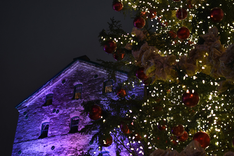 Distillery District Christmas Market, Toronto, Canada