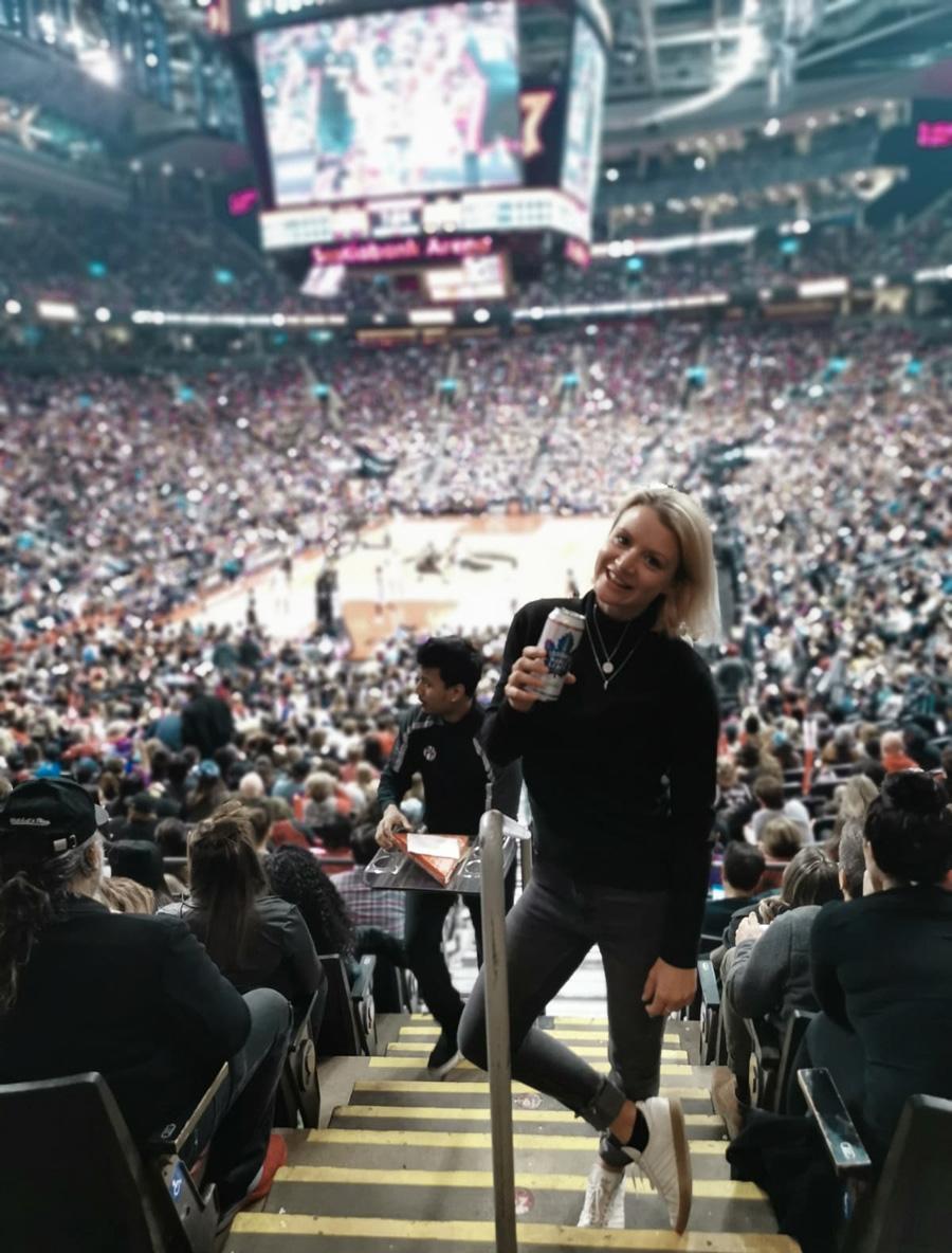 Toronto Raptors Basketball Game