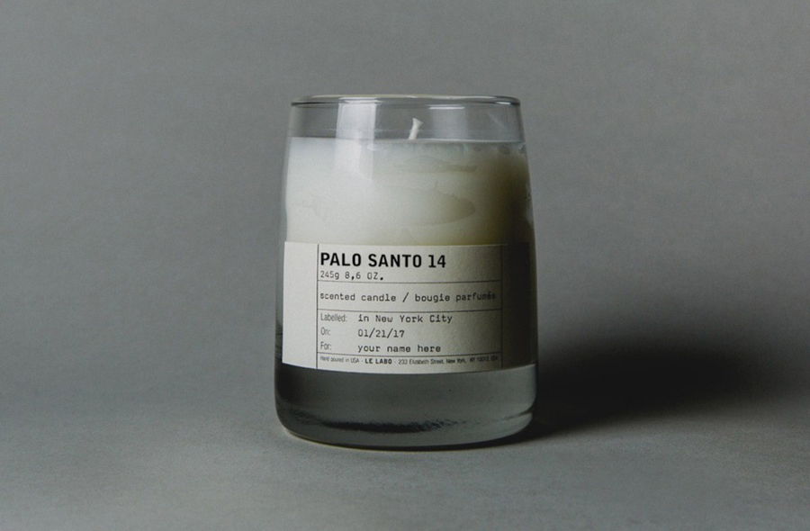 Palo Santo Scented Candle
