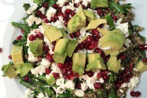 Healthy Eats: Pomegranate Jewelled Feta Superfood Salad Recipe