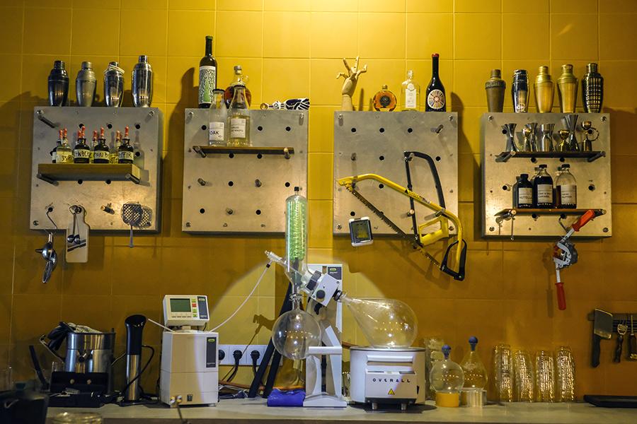 Overall Ibiza cocktail laboratory